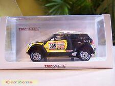 1:43 True Scale TSM, Mini Countryman All4 Racing, #305 Dakar Rally 2nd Place!