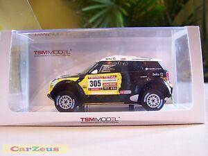 1:43 True Scale TSM, 2012 Mini Countryman All4 Racing, #305 Dakar Rally 2nd Pl.