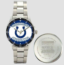 Indianapolis Colts Superbowl XLI Game Time Coach Watch Officially Licensed NEW