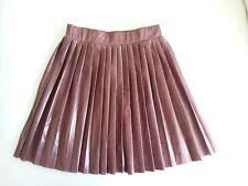 Zara Kids Animal Print Pleated Girls Skirt sz 10 NWOT