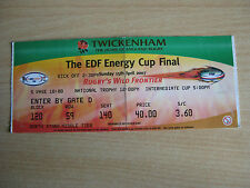 Ospreys vs Leicester Tigers FED CUP Final 15 avril 2007 ticket