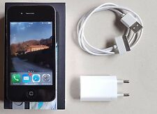 Apple iPhone 4 4th Generation 16GB Nero MC603IP/A-A1332 Caricabatteria e Scatola