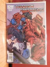 TRANSFORMERS, 2009, ISSUE # 11 COVER A. NEAR MINT, COSTA GUIDI, IDW