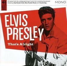 CD de musique album compilation Elvis Presley