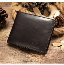 Portefeuille Cuir Véritable avec Compartiment Monnaie + Billet + Carte + Photo