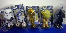 Funko STAR WARS Mini Bobblehead Wacky Wobbler R2D2 Yoda C3P0 Darth Vader Trooper