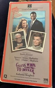 Guess Whos Coming to Dinner (VHS, 1998)