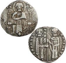 Silver Venetian Grosso of Giovanni Dandolo, Doge 1280-1289