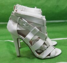 "new ladies  white 4.5""Stiletto High Heel sexy Shoes Size 5.5"