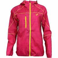 ASICS Fujitrail Packable Jacket  Outdoor Running  Outerwear - Pink - Womens