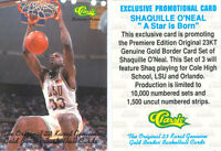 *Lot of 50* SHAQUILLE O'NEAL LSU SLAM DUNK CLASSIC PROMO CARDS