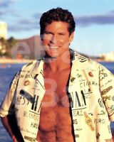 Baywatch (TV) David Hasselhoff 10x8 Photo