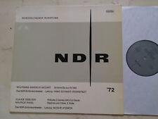 Ndr LP 72 Mozart/Debussy/Ravel Hans Schmidt-Isserstedt/ Atzmon Privatpressung