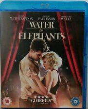 Water For Elephants (Blu-ray, 2011) STARRING ROBERT PATTINSON