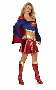 Rubies Adult Deluxe Supergirl Costume