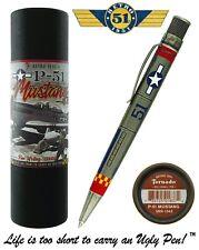 Retro 51 #VRR-1343 / P-51 Mustang Tribute Series Twist Action Tornado Pen