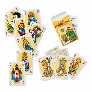Kinder Spielkarten Karten Spiel Lutz Mauder 32 Skatblatt Skat MAU MAU
