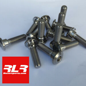 Titanium front and rear disc bolts 14 bolt set Kawasaki ZX6R  2012-19