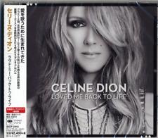 Celine Dion Loved Me Back To life Japan Press w/obi