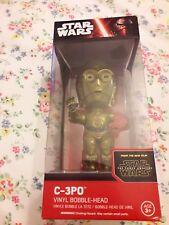 """Star Wars The Force despierta Funko! C-3P0 6"""" Vinilo Bobble-head. nuevo brazo rojo"""