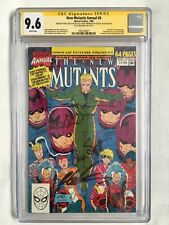 NEW MUTANTS Annual #6 - CGC 9.6 SS X4 LIEFELD (1st Shatterstar) Deadpool Cable