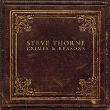 Thorne, Steve - Crimes and Reasons JADIS TONY LEVIN CD NEU OVP