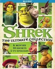 Shrek: The Ultimate Collection [Blu-ray] - 6 movies + 5 Tv episodes
