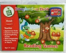 New Sealed Leap Frog Imagination Desk Reading Game Leap Read Lesson 3 Cartridge