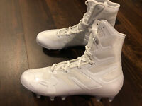 Under Armour Mens Highlight MC Football Cleat Size 9.5 White