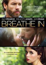 Breathe In (DVD, 2014)     Guy Pearce, Felicity Jones, Amy Ryan, Mackenzie Davis