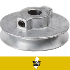 """Chicago Die Cast Single V Groove Pulley A Belt 4-1/2"""" OD X 1/2"""" Bore 450A5"""