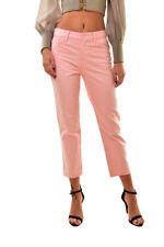 J Brand Simone Rocha Womens Frill SR1265 Slim Jeans Pink Size 24