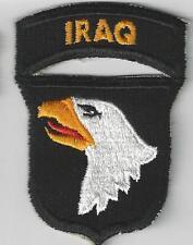 United States Prestigious 101st AirBorne Iraq WW2 Type Patch