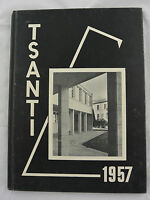 Tsanti 1957: Volume 20 Pueblo College Colorado Hardcover Yearbook Vint Book
