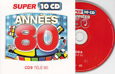 CD CARTONNE CARDSLEEVE ANNEES 80 TELE 80 15T CANDY/K 2000/LOVE BOAT/21 JUMP STRE