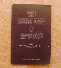 The Great Days of Motoring, A Mobil Presentation Album, Mobil Oil, 8 pages