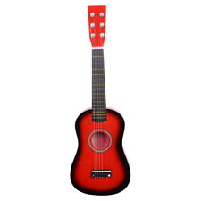 """New 23"""" Red Acoustic Guitar With Pick Strings"""