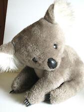 "Rare Vintage 1977 GUND Citizens National Bank Koala Bear ""Kit"" Plush 12 in 70's"