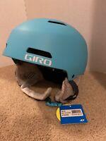 New Giro Youth Crue MIPS Snow Ski Helmet Matte Glacier Size Youth Medium