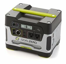 Goal Zero Yeti 400 Portable Power Station USB AC Charger 300W 12V Outlet Camping