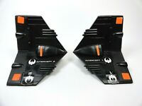 Star Bird Avenger Interceptor Wing Fins L+R 1979 Original Milton Bradley Parts