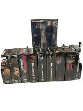 NECA REEL TOYS HORROR MOVIE FIGURES LOT (10)HALLOWEEN FRIDAY THE 13TH IT