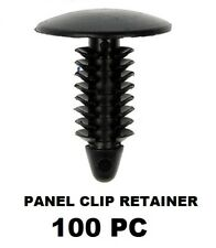 "100PC 1/4"" Nylon Shield Panel Clip Retainers  GM Chrysler Ford   5625  11605396"
