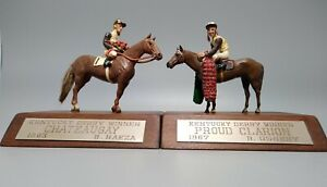 Darby Dan Farm 1963 & 1967 Kentucky Derby Winners Chateaugay & Proud Clarion