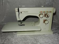 Viking Husqvarna Sewing Machine Model 6000 Case, Instructions, Pedal & Extra's