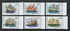 Saharaui circa 2000s Sailing Ships complete set of 6 Vf Mnh