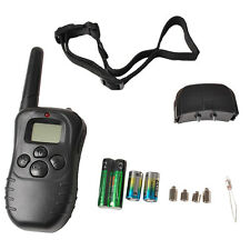 Electronic Level control Shock Vibra Remote Dog Training Collar Medium Large