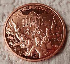 2014 Cryptolator Copper BITCOIN BTC 0.1 Physical Coin Token (casascius, lealana)
