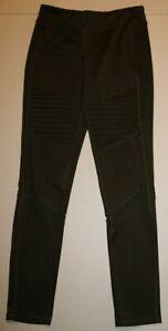 Girls Old Navy Active Go-Dry Full Length Runched Mesh Leggings XL 14 Olive