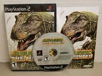 Jurassic: The Hunted (Sony PlayStation 2, 2009) CIB, Tested